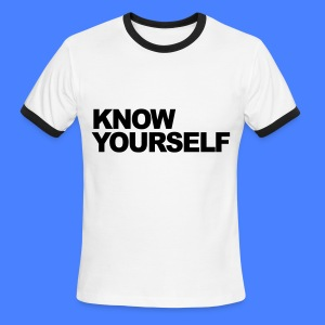 Know Yourself T-Shirts - Men's Ringer T-Shirt