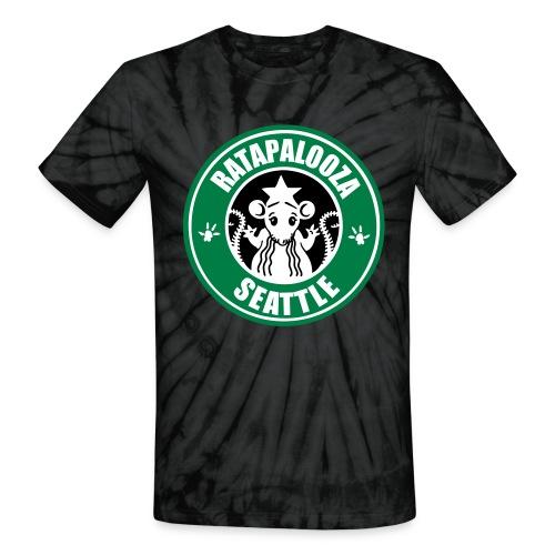 Ratapalooza Ratbux Tie-Dye Tee - Unisex Tie Dye T-Shirt