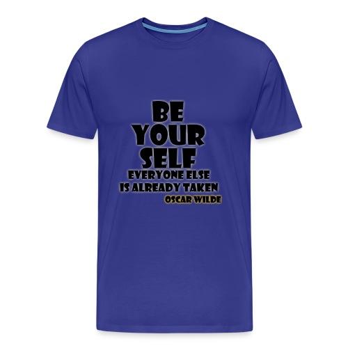 Be Yourself... - Men's Premium T-Shirt