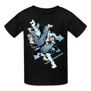Throw Away Your Inhibitions - Kids' T-Shirt