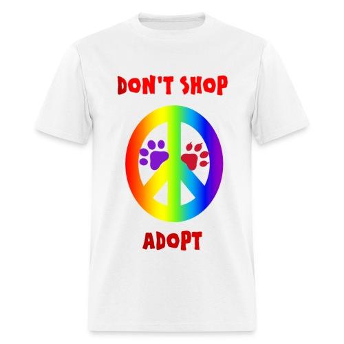 DON'T SHOP ADOPT - Men's T-Shirt