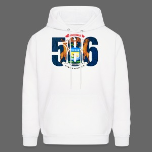 586 Michigan Flag - Men's Hoodie