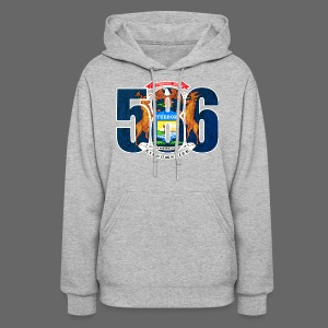 586 Michigan Flag - Women's Hoodie