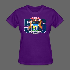 586 Michigan Flag - Women's T-Shirt