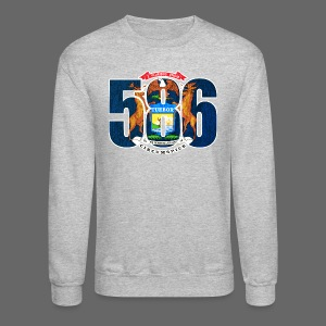 586 Michigan Flag - Crewneck Sweatshirt