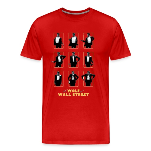 Hungry For Wall Street - Men's Premium T-Shirt