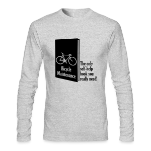 Self-Help - Men's Long Sleeve T-Shirt by Next Level