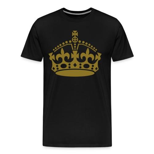 Mens Simple Crown - Men's Premium T-Shirt
