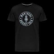 T-Shirts ~ Men's Premium T-Shirt ~ MTLHOCKEY T-Shirt Black