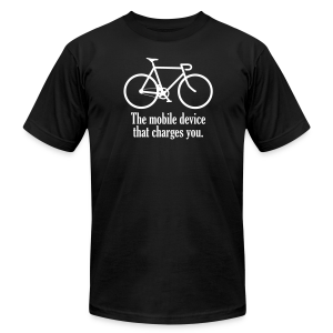 Mobile Device - Men's Fine Jersey T-Shirt