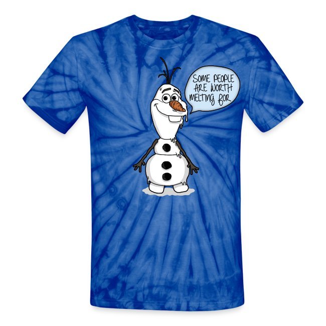 "Olaf ""Some People Are Worth Melting For"""