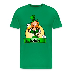St. Patrick's Day Irish Maiden T-Shirts - Men's Premium T-Shirt