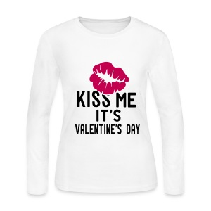 Valentine's Day T-Shirts  - Women's Long Sleeve Jersey T-Shirt
