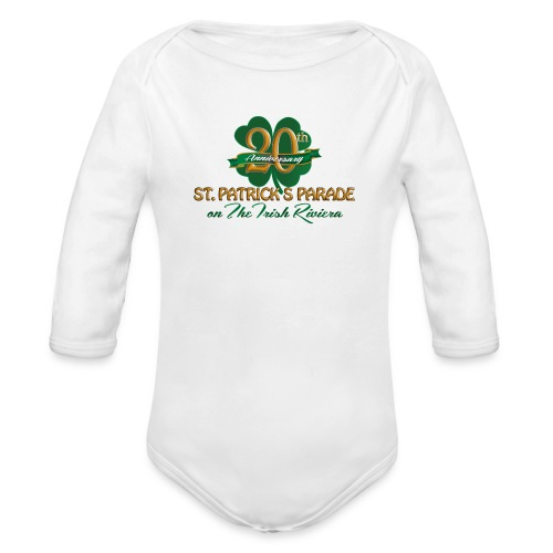 Baby Long Sleeve One Piece T-Shirt - Organic Long Sleeve Baby Bodysuit