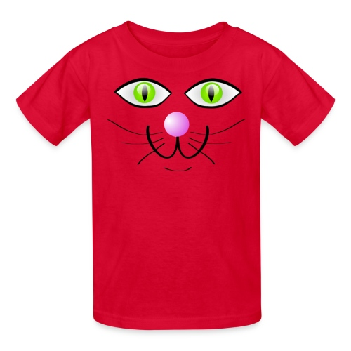 CAT OUTLINE - Kids' T-Shirt