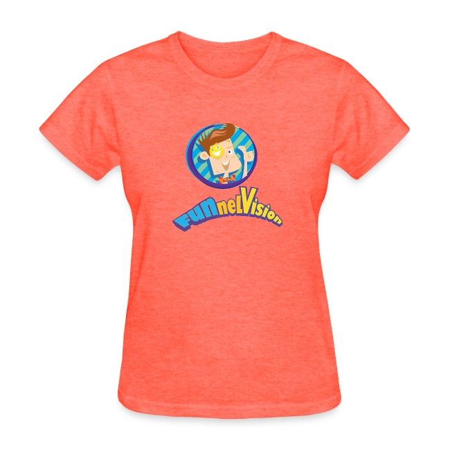 Funnel Vision Womens T-Shirt