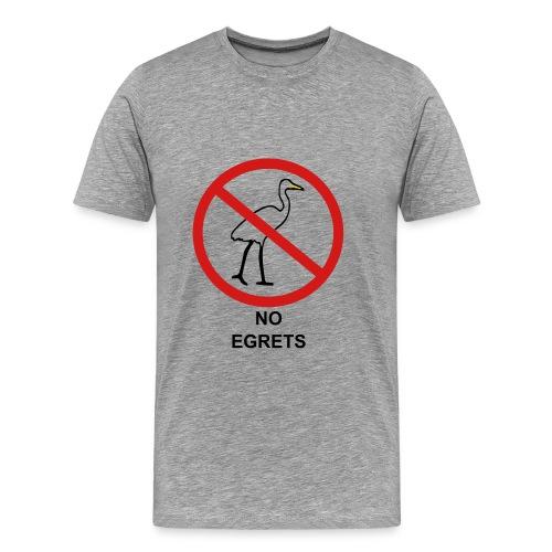 No Egrets Tee - Men's Premium T-Shirt