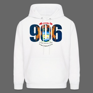 906 Michigan Flag - Men's Hoodie