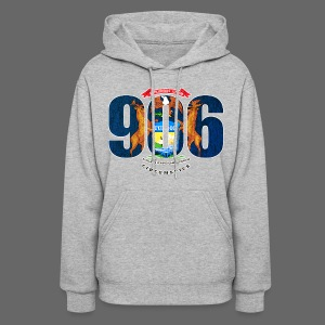 906 Michigan Flag - Women's Hoodie