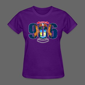 906 Michigan Flag - Women's T-Shirt