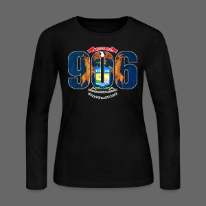 906 Michigan Flag - Women's Long Sleeve Jersey T-Shirt