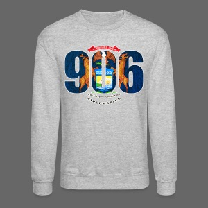 906 Michigan Flag - Crewneck Sweatshirt