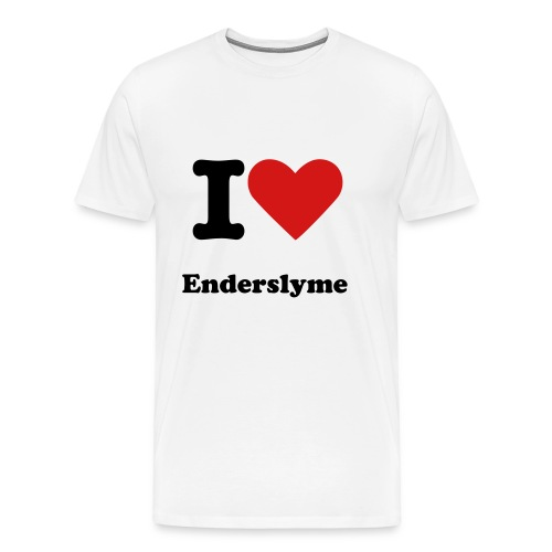 I Heart Enderslyme T - Shirt for Adults - MEN - Men's Premium T-Shirt