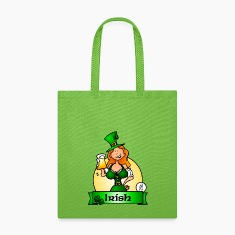 St. Patrick's Day Irish Maiden Bags & backpacks