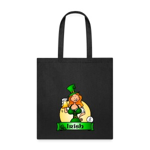 St. Patrick's Day Irish Maiden Bags & backpacks - Tote Bag