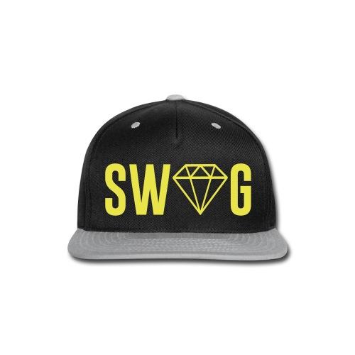 swag team - Snap-back Baseball Cap