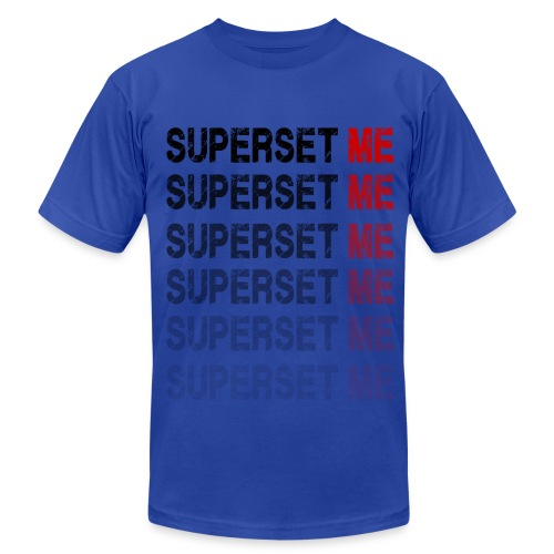 Superset Me - Men's  Jersey T-Shirt