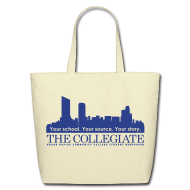 Bags & backpacks ~ Eco-Friendly Cotton Tote ~ Collegiate Tote bag