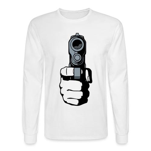 Shooter Tee - Men's Long Sleeve T-Shirt