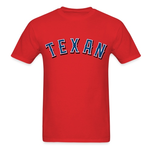 Texan - Men's T-Shirt