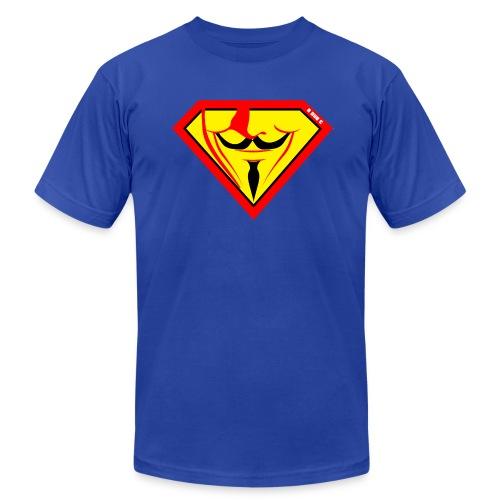Super Fawkes - Men's Fine Jersey T-Shirt