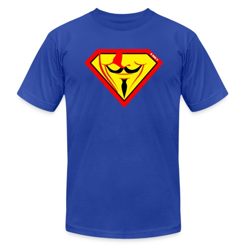 Super Fawkes - Men's T-Shirt by American Apparel