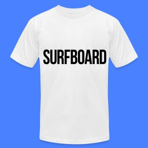 Surfboard T-Shirts - Men's T-Shirt by American Apparel