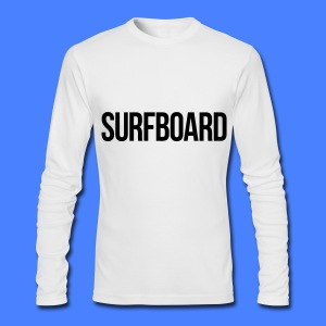 Surfboard Long Sleeve Shirts - Men's Long Sleeve T-Shirt by Next Level