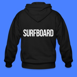 Surfboard Zip Hoodies & Jackets - Men's Zip Hoodie