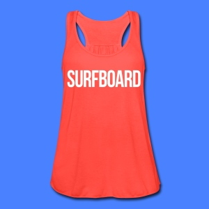 Surfboard Tanks - Women's Flowy Tank Top by Bella