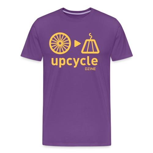 Upcycle Wheel to Lamp t-shirt - Men's Premium T-Shirt