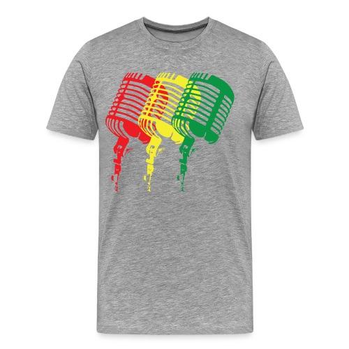 Rasta Music Tee - Men's Premium T-Shirt