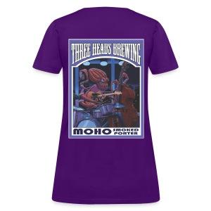 Moho Smoked Porter - White Logo - Women's T-Shirt
