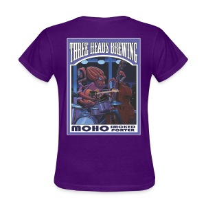 Moho Smoked Porter - White Logo - Women's T-Shirt