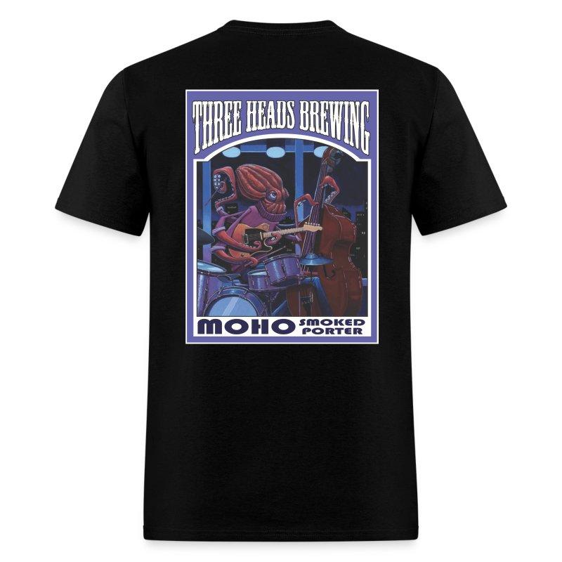 Moho Smoked Porter - White Logo - Men's T-Shirt