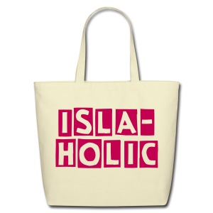 Hot Mexican Rosa Isla-holic  - Eco-Friendly Cotton Tote