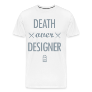 T-Shirts ~ Men's Premium T-Shirt ~ D.O.D. [metallic silver]