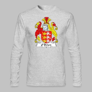 Obrien Family Shield - Men's Long Sleeve T-Shirt by Next Level