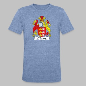 Obrien Family Shield - Unisex Tri-Blend T-Shirt by American Apparel