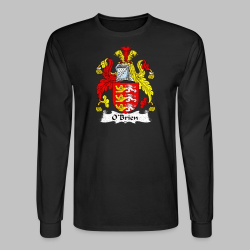 Obrien Family Shield - Men's Long Sleeve T-Shirt